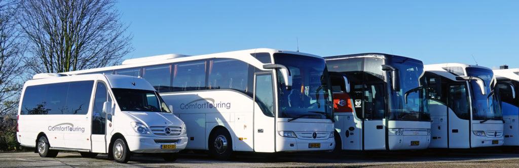 Touringcar huren doet u bij Comfort Touring